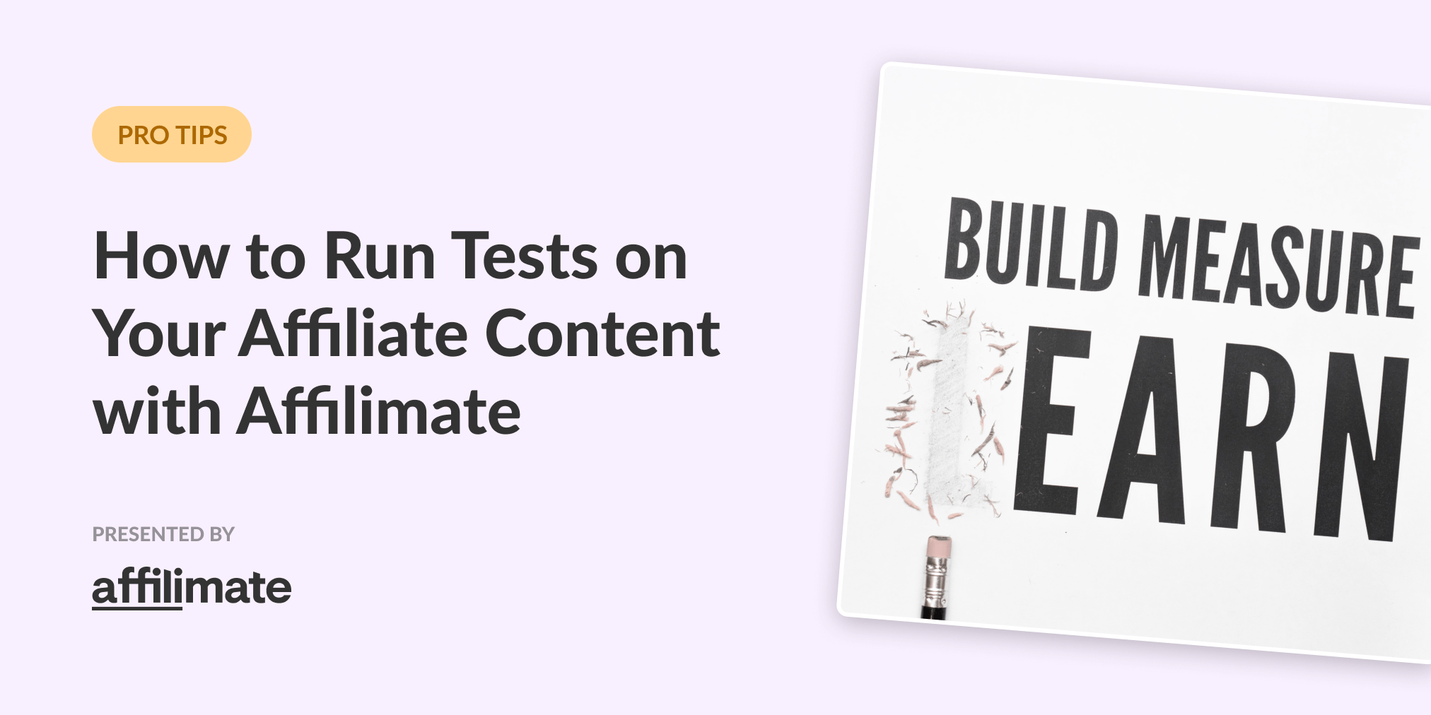 How to run tests on your affiliate blog posts (and measure the results!)
