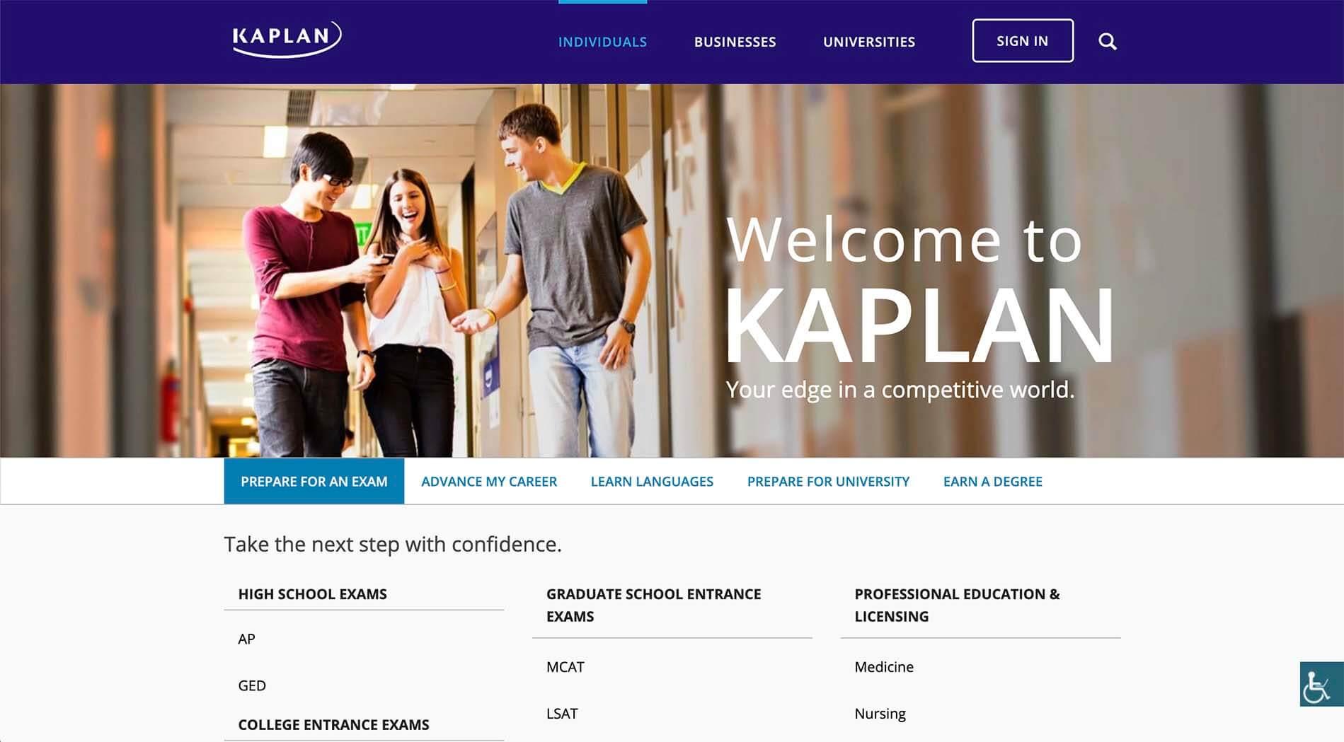 Kaplan Affiliate Program