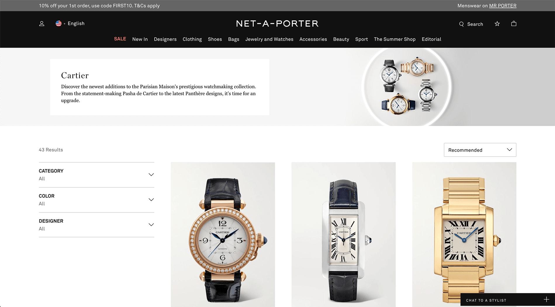 Luxury Watch Affiliate Program
