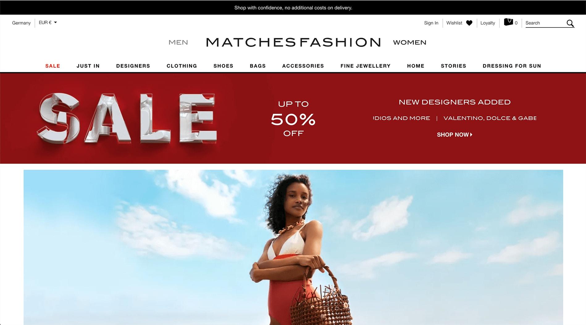 MATCHESFASHION Affiliate Program