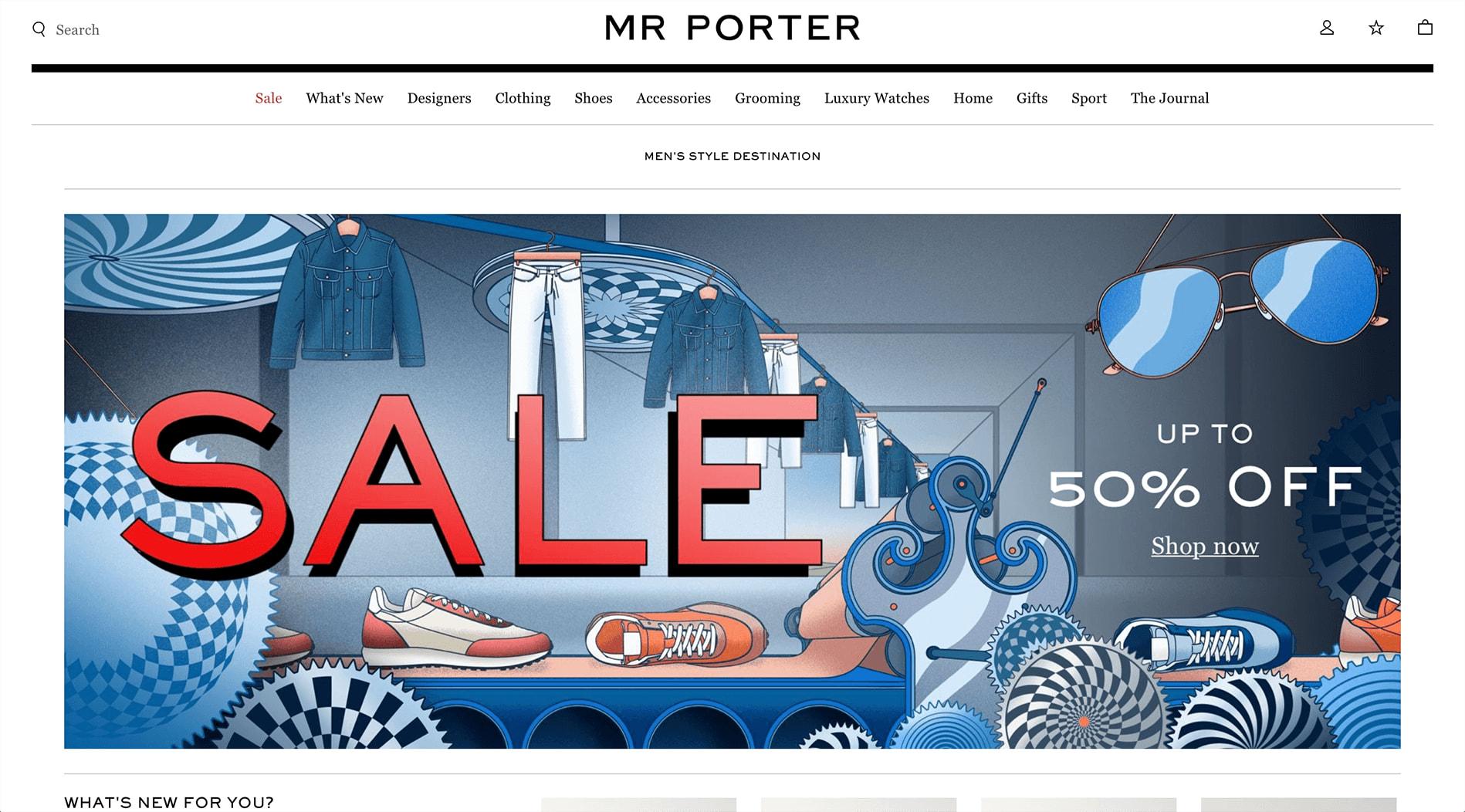 MR PORTER Affiliate Program