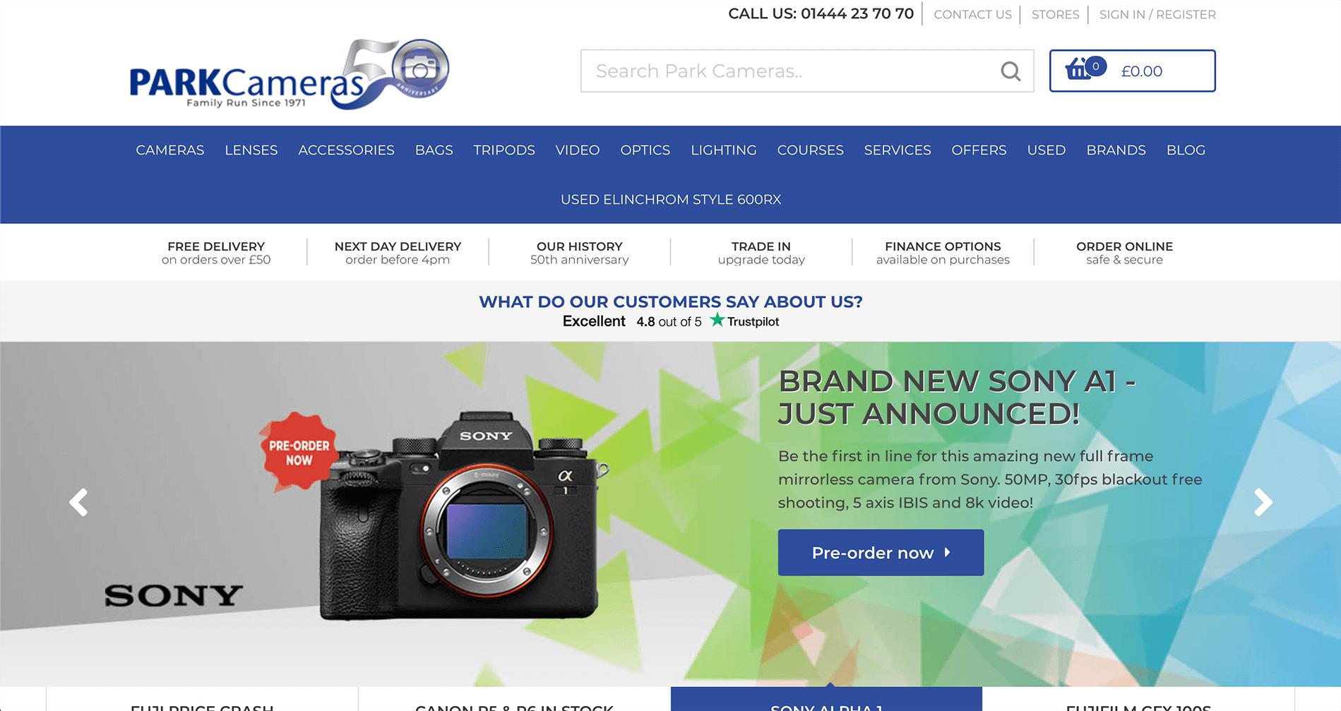 Park Cameras Affiliate Program