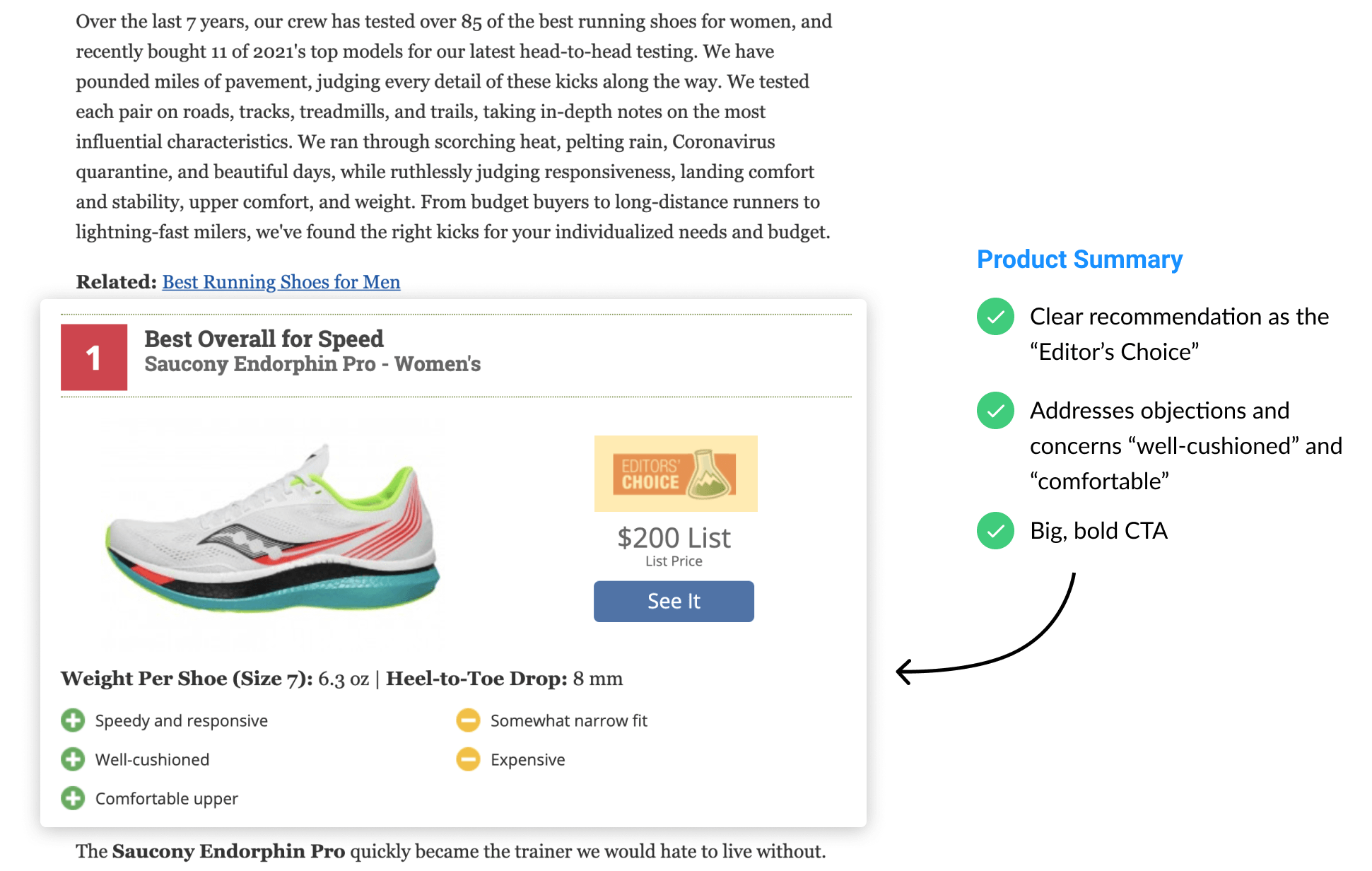 Product Review Example