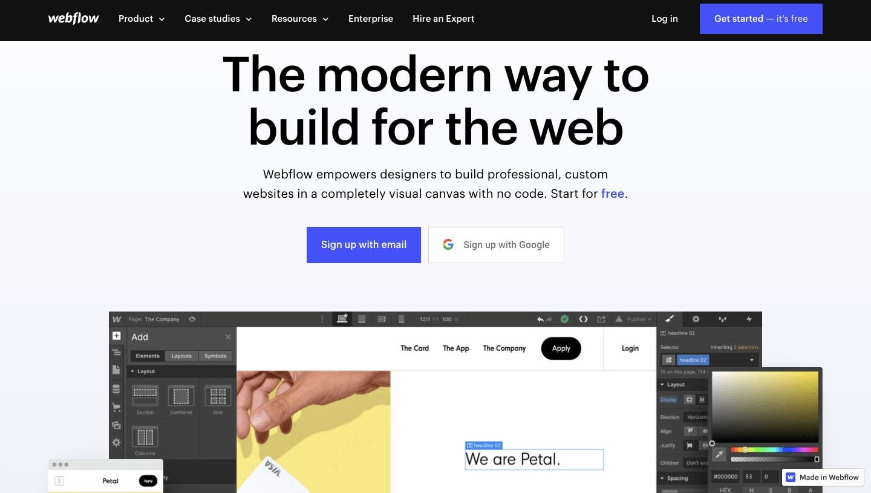 Webflow Affiliate Program